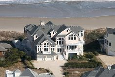 Oceanfront Outer Banks Rentals | Whalehead Beach Rentals | Sea Fore Ever Gorgeous place to rent right on the beach of the OUter Banks, NC... stayed there two years in a row, and LOVE IT!