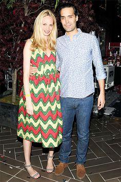 Aby Rosens Birthday Bash at Paramount Hotel - Lauren Santo Domingo and Andres Santo Domingo