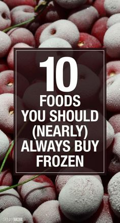 Great frozen food options for you and your family.