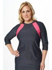Accelerate  Swim n' Sports Shirt-Plus Size