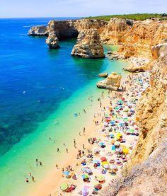 Praia da Marinha, Carvoeiro, Portugal
