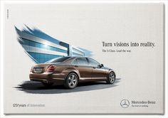 Ads Creative, Creative Advertising, Car Advertising, Advertising Design, Benz S Class, Best Ads, Automotive Photography, Social Media Design, Ad Design