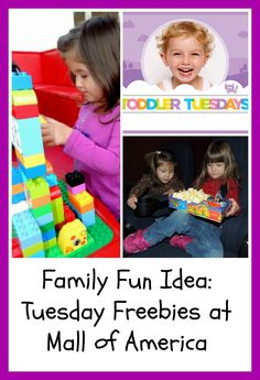 Family Fun Idea: Tuesday Freebies at the Mall of America