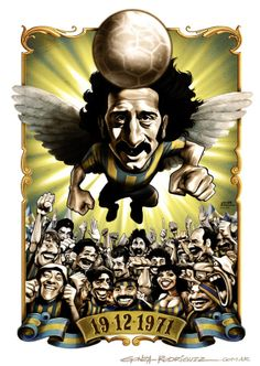 Football Caricatures and Illustrations by Gonza Rodriguez, via Behance