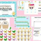 A language companion for There Was An Old Lady Who Swallowed A Chick! by Lucille Colandro.  The download targets sequencing, grammar, rhyming, vocabulary and more!