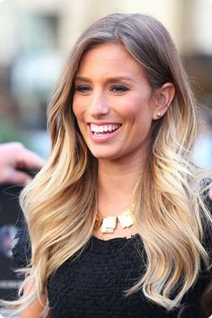 11 Stylish Stars with Brown And Blonde Ombre Hair