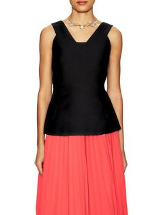 Structured Peplum Top by kate spade new york at Gilt