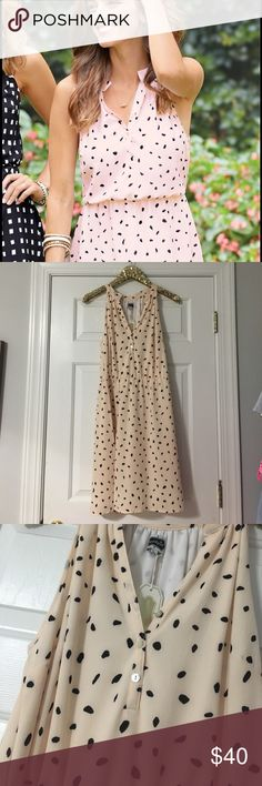 Blush and Black Mud Pie Dress Brand New with Tags Blush and Black patterned Mud Pie Teagan Dress! Blush is THE color right now and love the black Dalmatian-like pattern. Mud Pie Dresses Midi