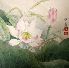 Lotus,33cm x 33cm(13〃 x 13〃),2405006-z