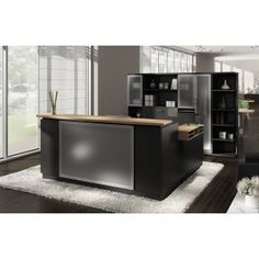 Global Zira ZIRA403L Reception Desk