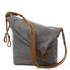Women Canvas Leather Bag – Buykud