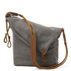 Women Canvas Leather Bag – Buykud