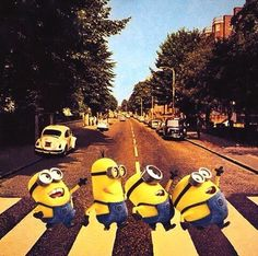 Minions - Beatles - Abbey Road