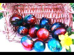 Farbanje jaja na pari: Tako laka i jeftina metoda, svima uspeva! I Lak, Making Easter Eggs, Egg Art, Food Decoration, Egg Decorating, Easter Recipes, Craft Tutorials, Handicraft, Decoupage