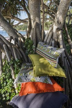 Linen & Moore cushions