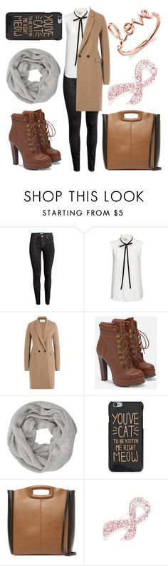 """Easy Look"" by maeaballroomprincess ❤ liked on Polyvore featuring Frame Denim, Harris Wharf London, JustFab, John Lewis, Maje, Napier and Sydney Evan"
