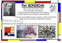 a la maniere des peintres-sculpteurs - les patouilles de Bout2fee Piet Mondrian, Mondrian Kunst, Art History Major, Art History Memes, Wassily Kandinsky, Ecole Art, History Teachers, Cycling Art, Art Moderne