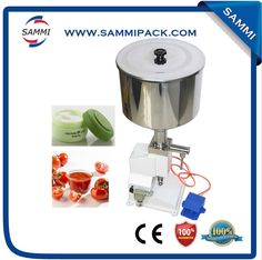 330.00$  Buy now - http://aliw0c.worldwells.pw/go.php?t=32722105216 - jam/sauce /liquid/oil /detergent/comestic/cream filling machine