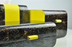 ginger brown,shagreen box,yellow shagreen,cracking sea shell,galuchat