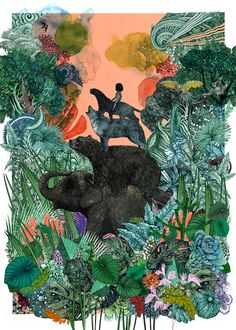 The Jungle Book by Lucille Clerc || Print Club London