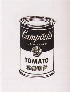 'Retro Soup' von Andy Warhol (1928-1987, United States)