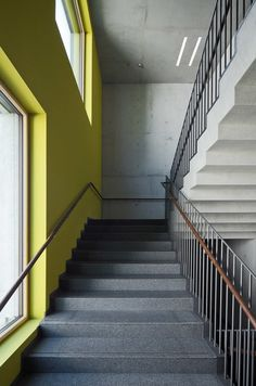 marte marte architekten design a special education school which reflects the region's integrated approach incorporating a c. Special Education, Scale, Stairs, Architecture, School, Instagram, Design, Mars, Interiors