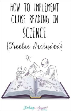 Using a close reading strategy in science is a perfect way for students to comprehend difficult science text and deepen their understanding. This post breaks down how to use close reading with any science text and has a FREE science passage with close rea Science Resources, Science Lessons, Science Education, Teaching Science, Science Activities, Science Ideas, Physical Science, Science Labs, Earth Science