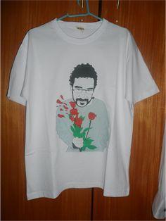 Camiseta - Renato Russo- Loja de RabiscoVirtual