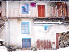 Village Villaron, Haute Maurienne, photo prise par Valérie Coutrot.
