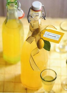 Limoncello, a homemade liquor,  makes a welcome holiday gift but requires that you start about 3 months in advance. Very easy recipe.