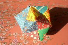 origami boule