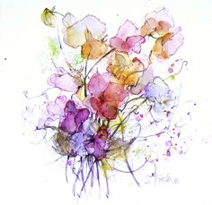 Image from http://www.shirleytrevena.com/wp-content/gallery/drawings/sweet-peas_0.jpg.