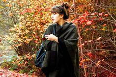 Ponscho Look #autumn #style #fashion