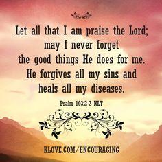 Seja bendito o nome do Senhor, desde agora e para sempre! Do nascente ao poente, seja louvado o nome do Senhor! Salmos 113:2-3