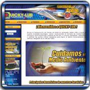 Organización:   QuickyLub;   Ubicación:   Maracay;   Enlace:   http://www.quickylub.net;   Segmento:  Automotriz;   Año:   2006