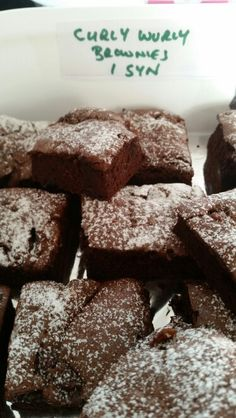 Slimming world curly wurly chocolate brownies