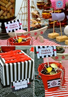 Pirate Party by the Lake Party Theme #pirate #party @Nichole Radman Simmons
