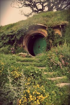 In a hole in the ground, there lived a hobbit...