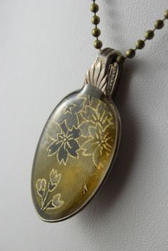 Recycled spoon necklace by Resinate Designs   https://www.facebook.com/ResinateDesigns