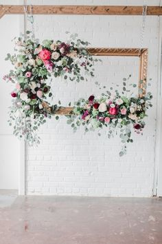 floral wedding decor ideas | Wedding & Party Ideas | 100 Layer Cake