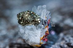Quartz and pyrite