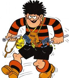 Popular: CBBC has snapped up a new series based on the antics of Denis the Menace and Gnasher, based on the stories made famous in The Beano more than sixty years ago Childhood Games, Childhood Memories, Dennis The Menace Cartoon, Life In The 1950s, Post Apocalyptic Movies, Star Wars Tattoo, Cartoon Characters, Fictional Characters, Comic Character