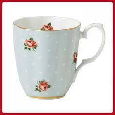 Polka Rose Creatively Designed Mug - Improve your home (*Amazon Partner-Link)