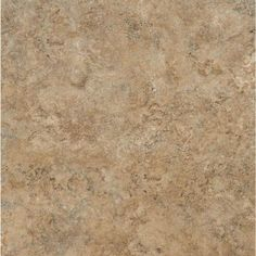 Armstrong CeraRoma 16 In X Caramel Sand Groutable Vinyl Tile