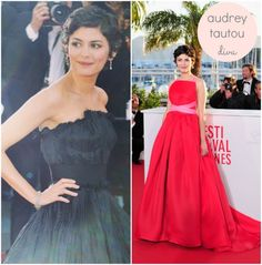 Audrey Tautou dress Cannes Festival 2013 >>by Saintrop.com, the best site of the Cote d'Azur. No doubts!
