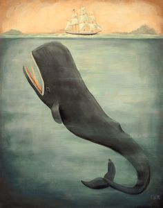 Leviathan Below, by Emily Winfield Martin.  How cool would this be in Little Fearless's room??