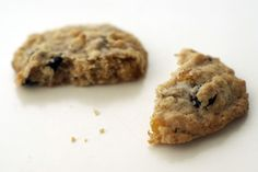 Dried Blueberry and Apricot Oatmeal Cookies - salty/sweet