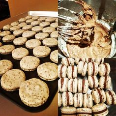 I baked French Macarons for the first time. They turned out ok. Stupid Pistachios were a bit lumpy. But taste texture and flavor were great! #baking #cooking #food #recipes #cake #desserts #win #cookies #recipe #cakes #cupcakes