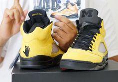 http://SneakersCartel.com DJ Khaled Shares Air Jordan 5 Michigan 'Fab 5' PE #sneakers #shoes #kicks #jordan #lebron #nba #nike #adidas #reebok #airjordan #sneakerhead #fashion #sneakerscartel http://www.sneakerscartel.com/dj-khaled-shares-air-jordan-5-michigan-fab-5-pe/