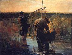 Leon Wyczółkowski – Rybacy (jedna z wersji)